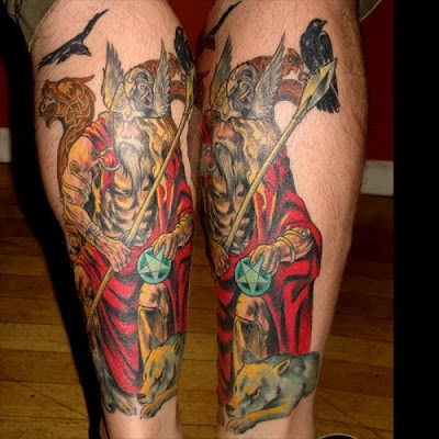 neo polytheist: Germanic Pagan Tattoos
