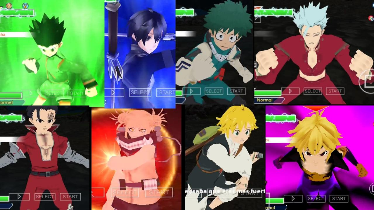 PSP Anime Crossover DBZ TTT MOD Download