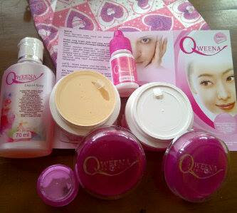 Cream Qweena paket Acne Original Terbaru