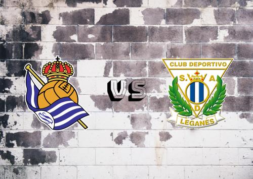 Real Sociedad vs CD Leganés  Resumen