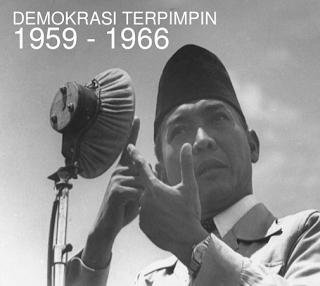 Masa Demokrasi Terpimpin : Sejarah, Latar Belakang, dan Pelaksanaan