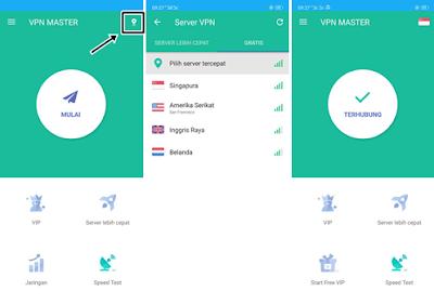 Cara Menggunakan VPN Master 2019