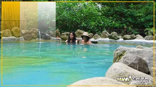 Kolam Pemandian Air Panas Maribaya