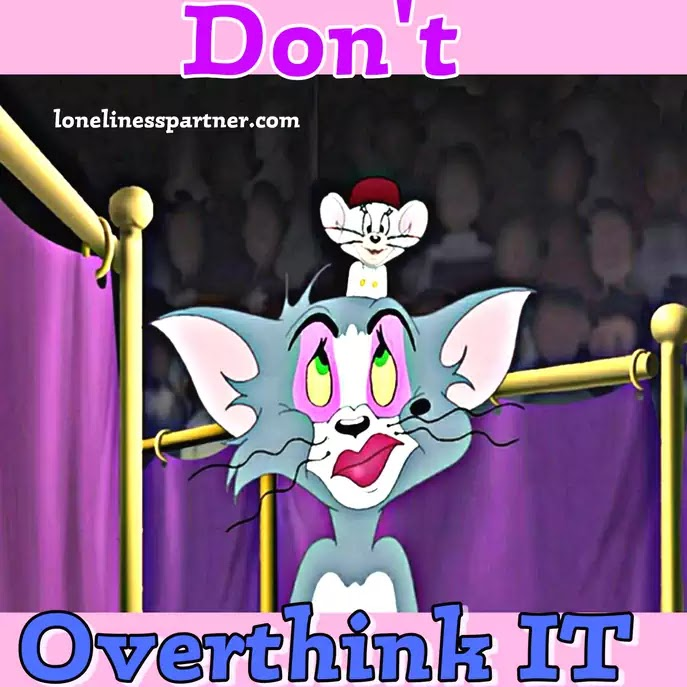 Tom & Jerry, How to Stop Overthinking? | Generalized Anxiety Disorder