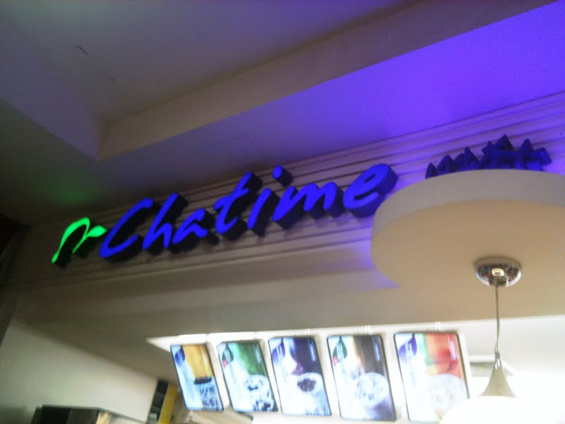 My First Milk Tea Experience — Chatime