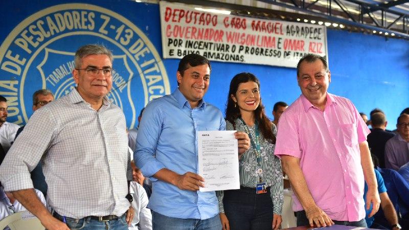 Omar Aziz assume o comando do governo do AM é linchado nas redes sociais e  esvazia o palanque de Wilson Lima em Itacoatiara-AM