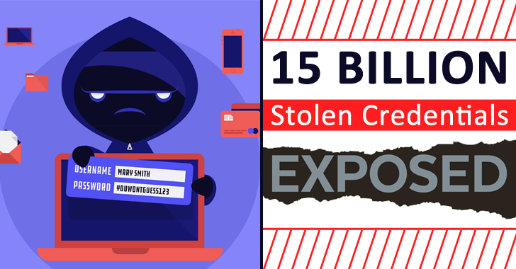 Over 15 Billion Stolen Username & Passwords for Sale On the Dark Web