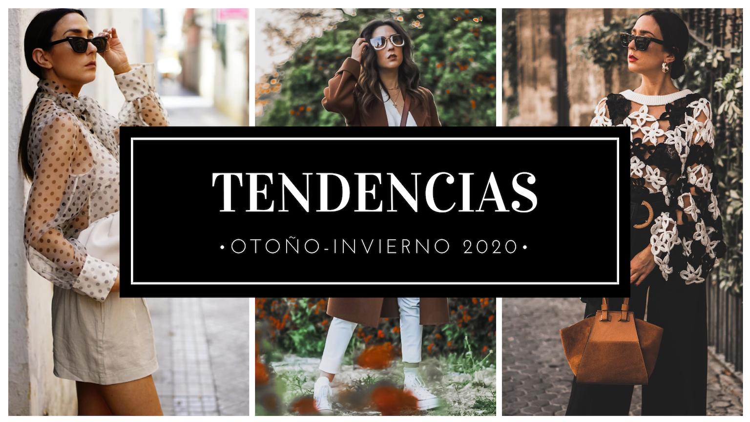 tendencias otoño invierno 2019 2020