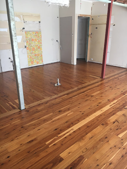 Finished Cypress Pine Flooring