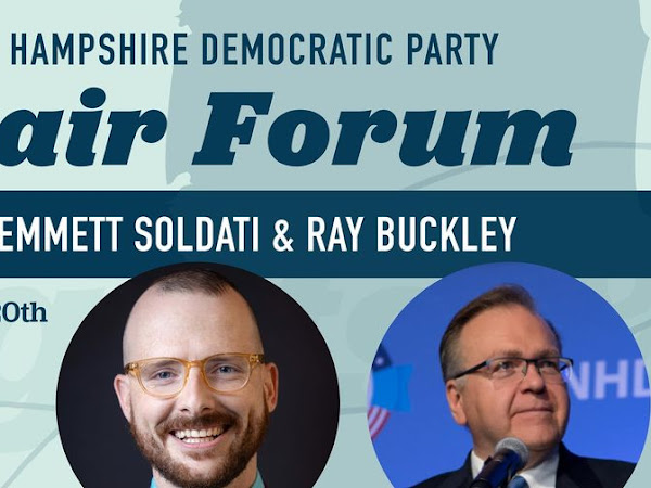 NHDP Chair Forum With Emmett Soldati & Ray Buckley -Sat, Feb 20th 2021