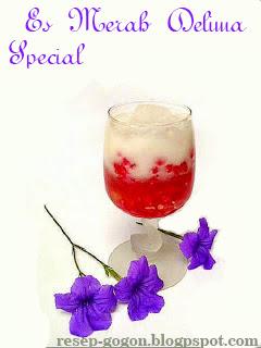 Resep Es Merah Delima Special