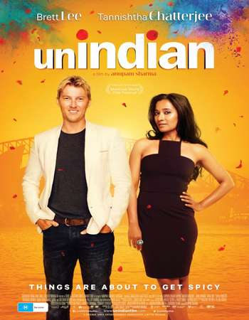 Poster Of UNindian 2015 English 720p HDRip x264 Free Download Watch Online Worldfree4u