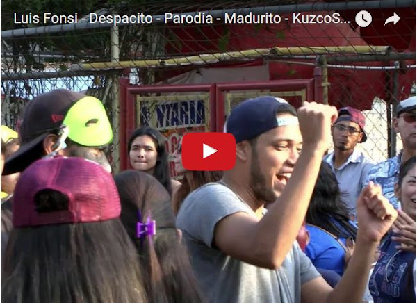 El Despacito que le dedicaron a Maduro