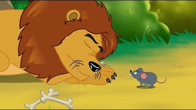 Lion et souris