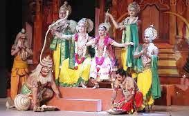 तिलवा पूजन के साथ बड़ा गाँव मे शुरू हुई ऐतिहासिक रामलीला