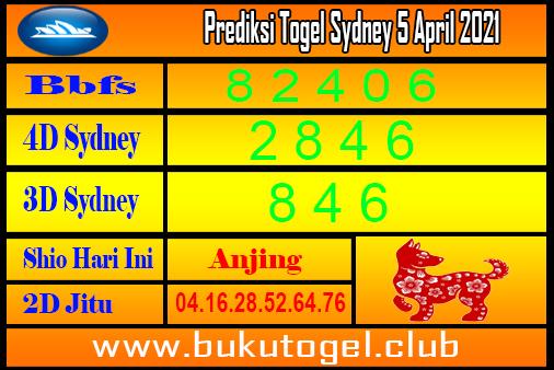 Syair Togel Sydney 4 April 2021