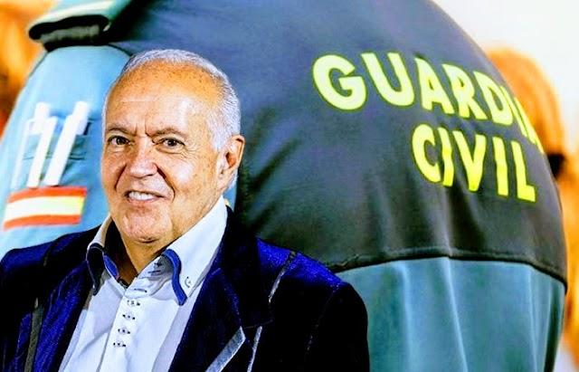 Guardia Civil española desplegó operativo contra red de estafas financieras liderada por el productor de televisión José Luis Moreno