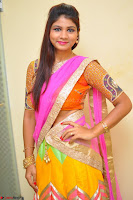Lucky Sree in dasling Pink Saree and Orange Choli DSC 0370 1600x1063.JPG