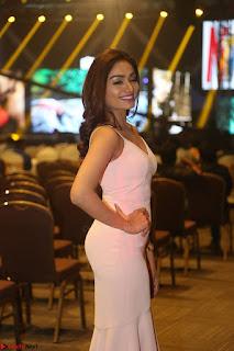 Aishwarya Devan in lovely Light Pink Sleeveless Gown 026.JPG