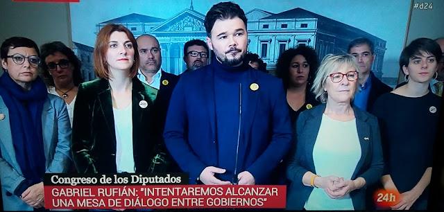 PSOE y ERC se reunirán el próximo jueves en la Cámara Baja