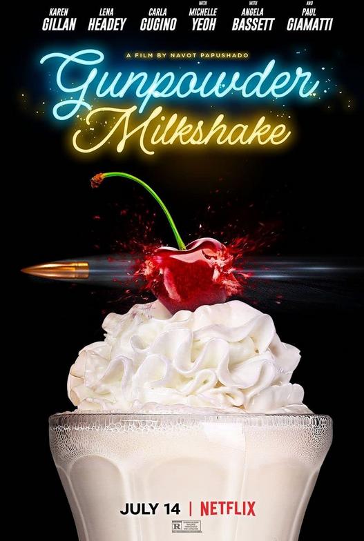 Gunpowder Milkshake, Action, Adventure, Crime, Thriller, Netflix, Movie Review by Rawlins, Rawlins GLAM, Rawlins Lifestyle