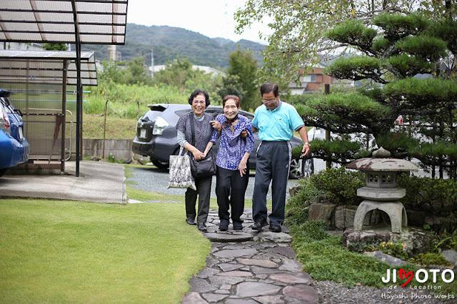 愛知県岡崎市での地元ロケーション撮影