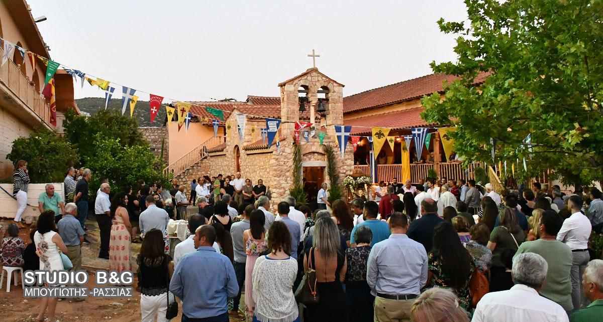 Η Κοίμηση της Θεοτόκου γιορτάστηκε στην Ιερά Μονή Ταλαντίου