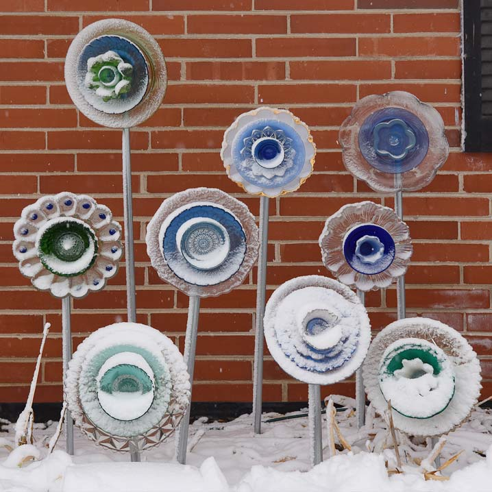 Garden Art in Winter
