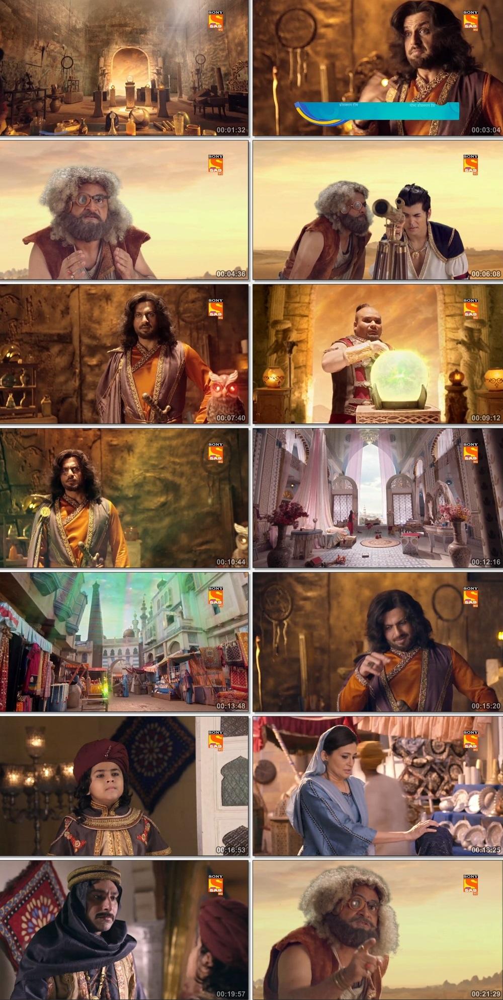 Screenshots Of Hindi Show Aladdin – Naam Toh Suna Hoga 2019 Episode 256 300MB 720P HD