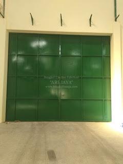 jasa pintu gudang pabrik