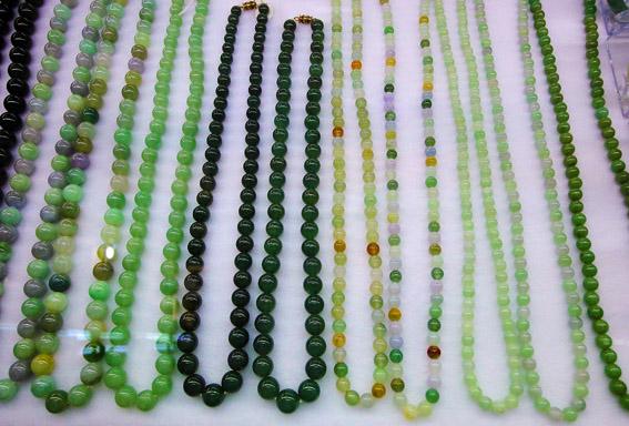 beautiful colored chain jewelry