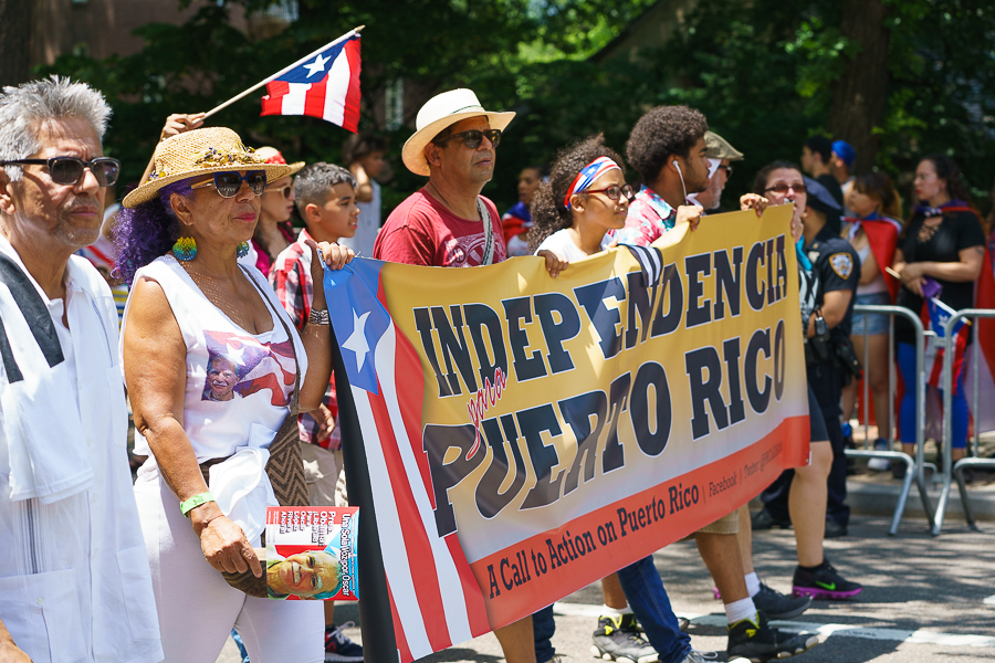 a photo of the puerto rican day parade in new york 2017 by daniel south