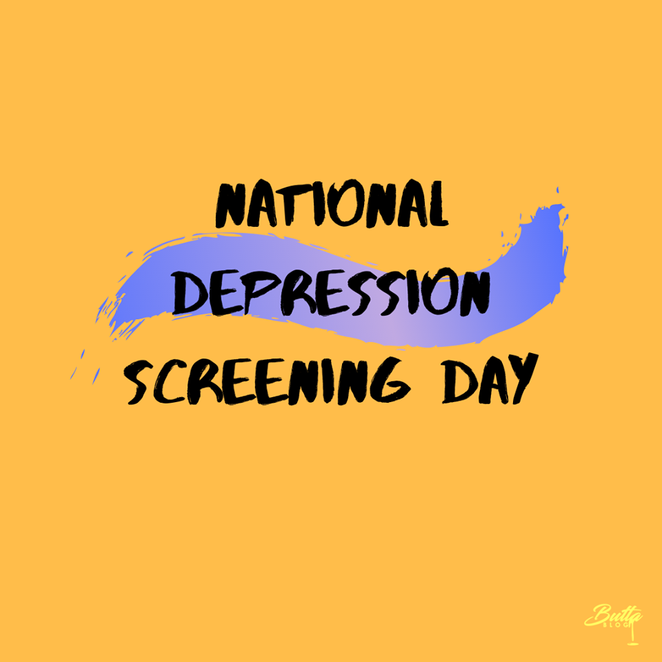 National Depression Screening Day Wishes Pics