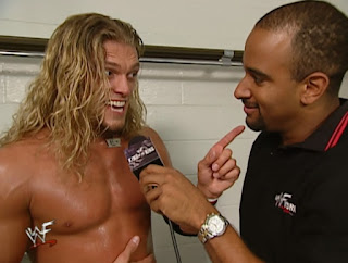 WWE / WWF - King of the Ring 2001 - Jonathan Coachman interviews Edge