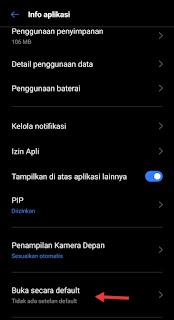 cara mengganti pemutar video default di android