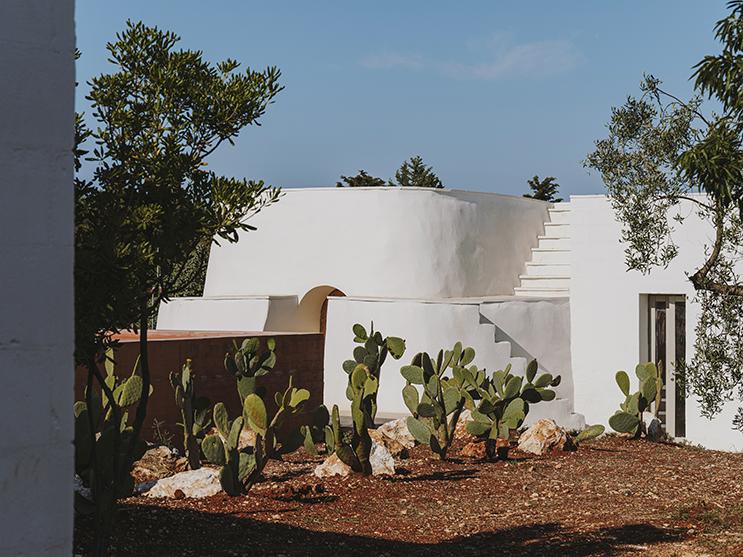 villa contemporanea stile mediterraneo