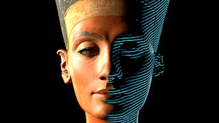 Scanning Nefertiti