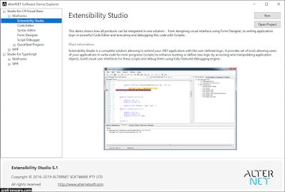 AlterNET Extensibility Studio