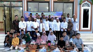 Semarak Ramadhan, Karang Taruna Gampong Putoh Sa Aceh Timur Santuni Anak Yatim