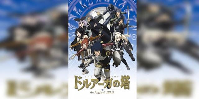 Rekomendasi Anime Game, Tentang Masuk Dunia Game Druaga no tou Series terbaik