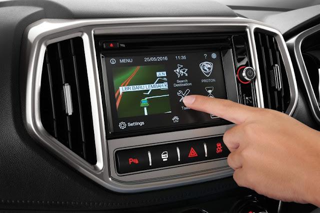 Persona 2016 Touchscreen