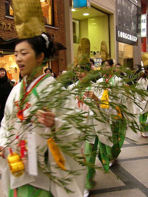 Hoekago Parade to Imamiya Ebisu Shrine for the Toka Ebisu Festival