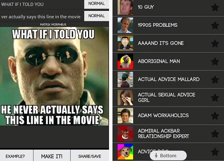 cara membuat meme pada gadget android
