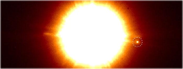 objeto recém descoberto no sistema binário CS Cha