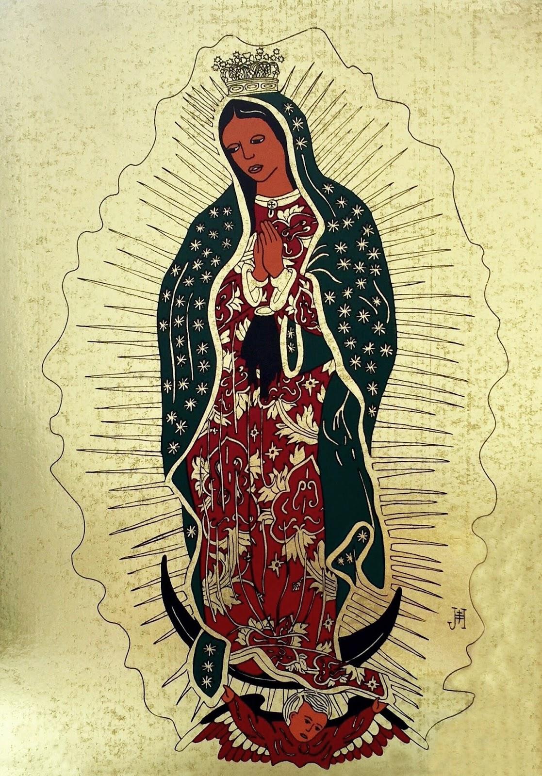 Obraz Panna Marie Guadalupská