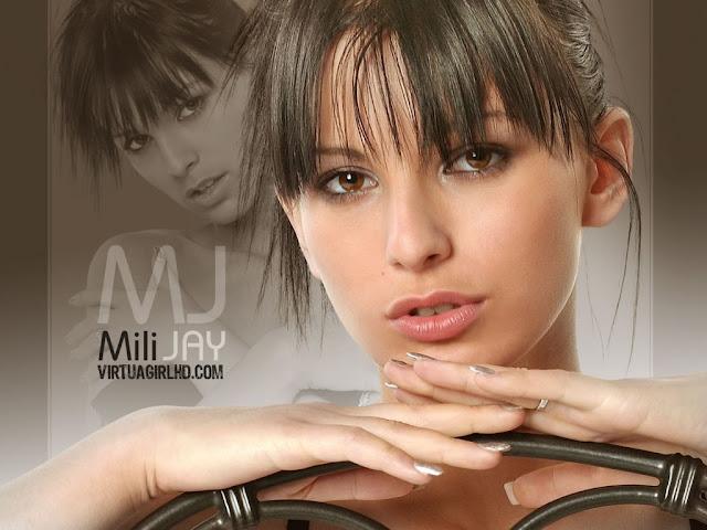 Mili Jay desktop wallpaper woman