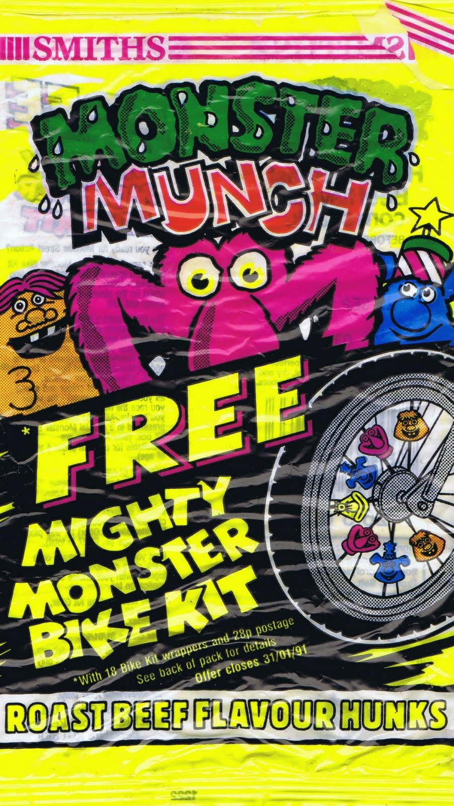 The Monster Munch Collection: April 2011