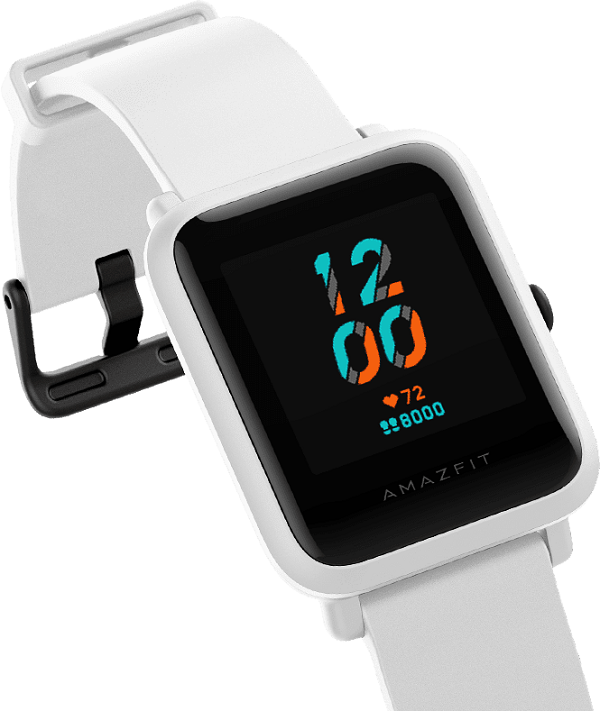 Amazfit Bip S Smartwatch Display Size