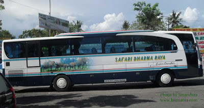 bus safari dharma raya super executive di jombor