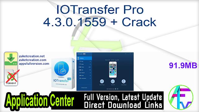 IOTransfer Pro 4.3.0.1559 + Crack